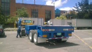 trailer portacontenedor, trailer grillo