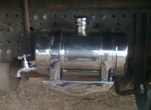 Tanque de agua redondo