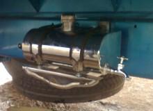 Tanque de agua en D