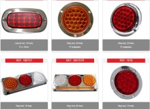 Lamparas LED stop