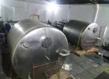 Tanque de acero inoxidable vertical de 30.000 Lts